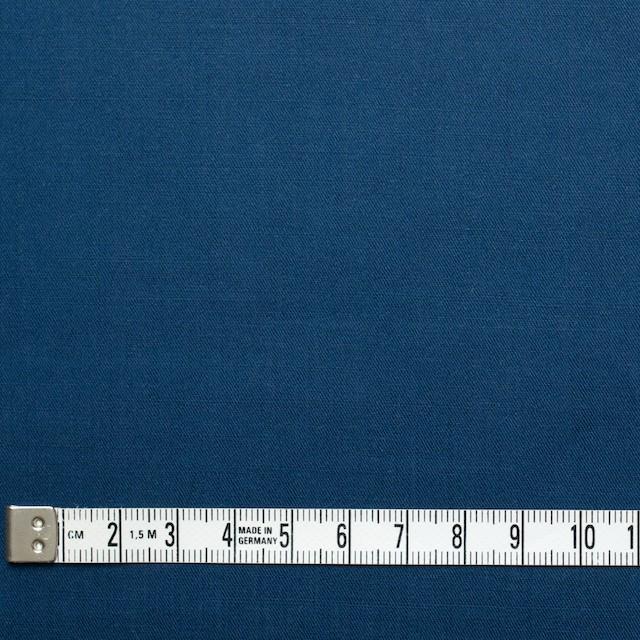 コットン&リネン×無地(ブルー)×薄サージ イメージ4