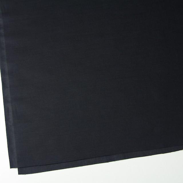 コットン&リネン×無地(ブラック)×ボイル イメージ2