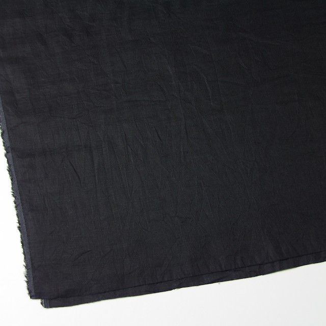 リネン×無地(ブラック)×ボイルワッシャー イメージ2