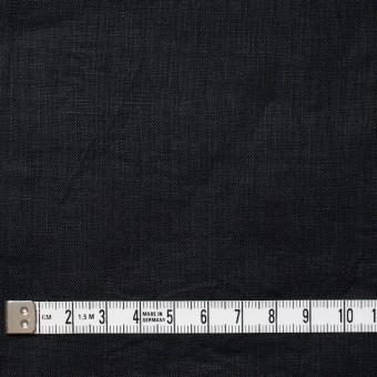 リネン×無地(ブラック)×ボイルワッシャー サムネイル4