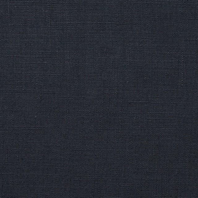 リネン×無地(チャコールブラック)×ブロード イメージ1