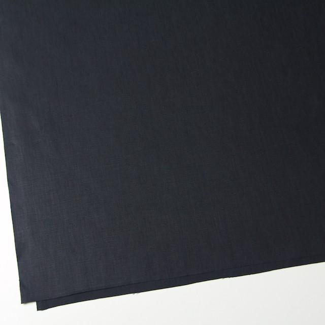 リネン×無地(チャコールブラック)×ブロード イメージ2
