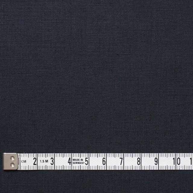 リネン×無地(チャコールブラック)×ブロード イメージ4