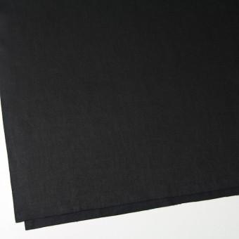 リネン×無地(ブラック)×オックスフォード サムネイル2