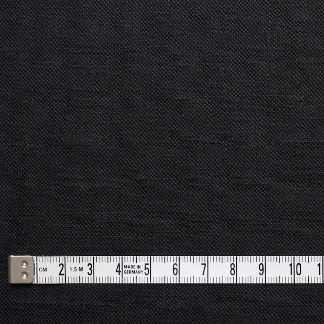 リネン×無地(ブラック)×オックスフォード イメージ4
