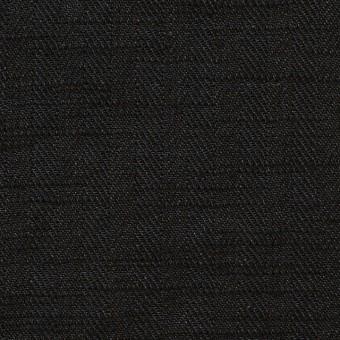 リネン×無地(ブラック)×ヘリンボーン_全2色 サムネイル1