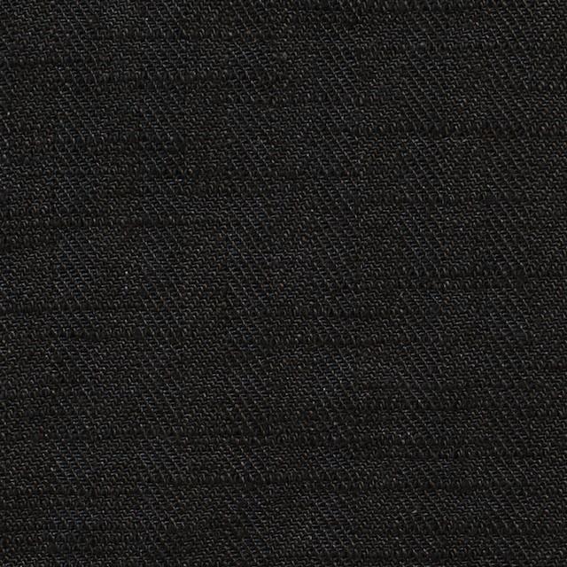 リネン×無地(ブラック)×ヘリンボーン_全2色 イメージ1