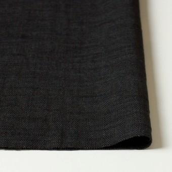 リネン×無地(ブラック)×ヘリンボーン_全2色 サムネイル3