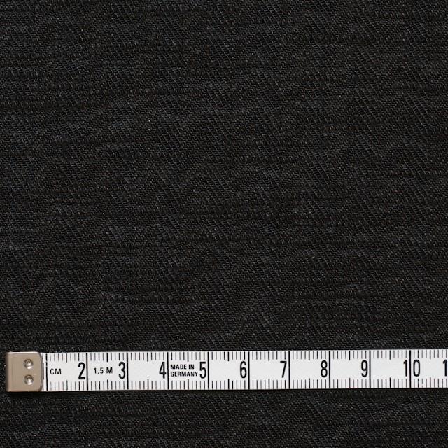 リネン×無地(ブラック)×ヘリンボーン_全2色 イメージ4