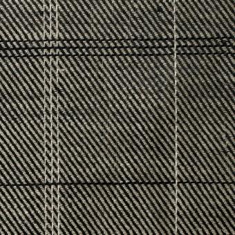 ラミー×チェック(キナリ&ブラック)×サージ サムネイル1