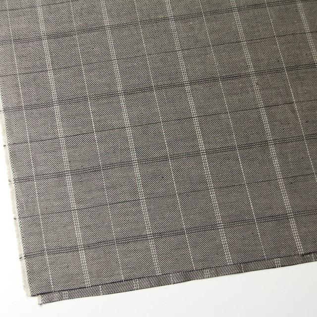 ラミー×チェック(キナリ&ブラック)×サージ イメージ2