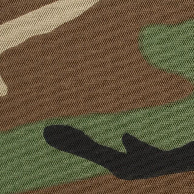 コットン×迷彩(グリーン&ブラウン)×チノクロス イメージ1
