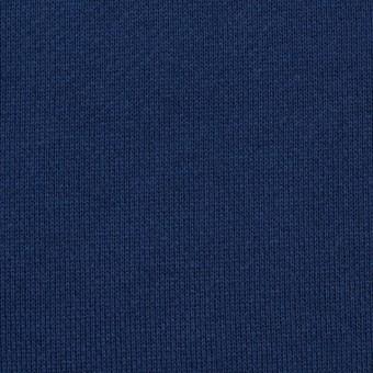 コットン×無地(ネイビーブルー)×裏毛ニット サムネイル1