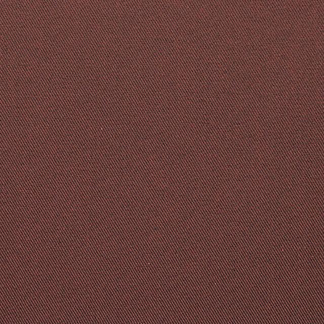 コットン×無地(コゲ茶&レンガ)×シャンブレーギャバジン_全5色 イメージ1
