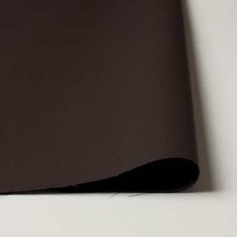 コットン×無地(ブラウン×コゲ茶)×シャンブレーギャバジン_全5色 サムネイル3