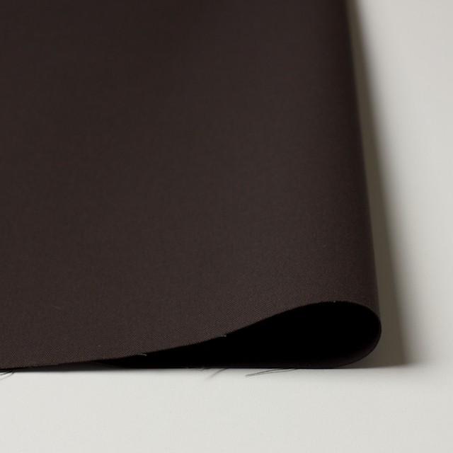 コットン×無地(ブラウン×コゲ茶)×シャンブレーギャバジン_全5色 イメージ3