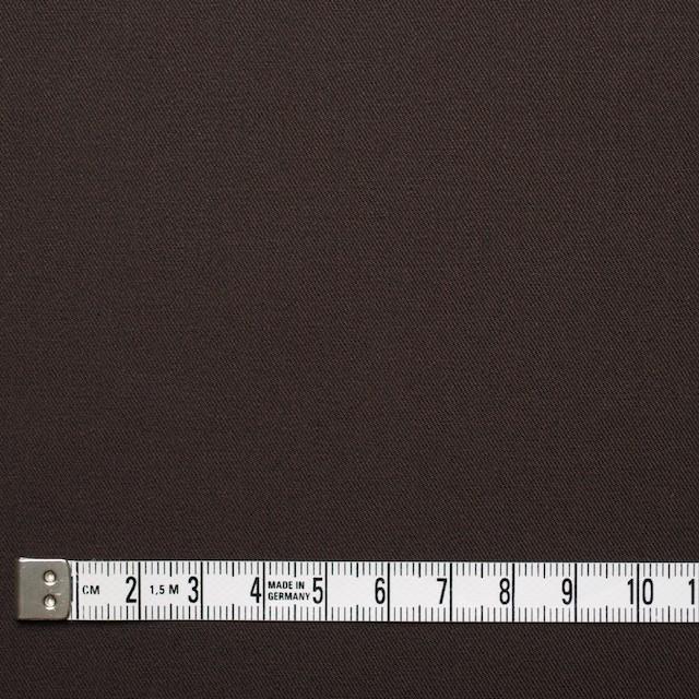 コットン×無地(ブラウン×コゲ茶)×シャンブレーギャバジン_全5色 イメージ4