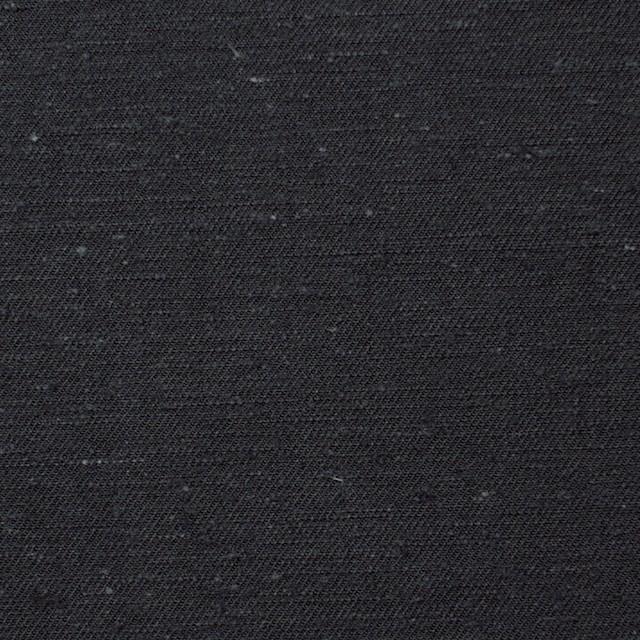 コットン×無地(チャコールブラック)×チノクロス イメージ1