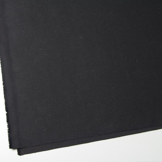 コットン×無地(チャコールブラック)×チノクロス イメージ2