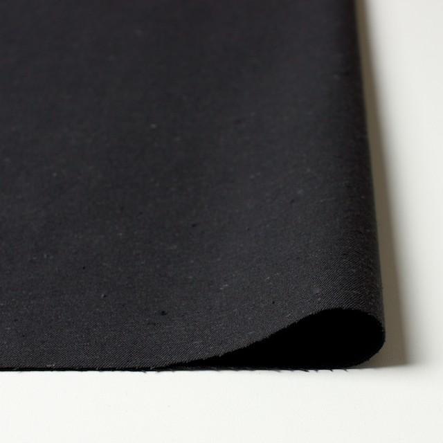 コットン×無地(チャコールブラック)×チノクロス イメージ3