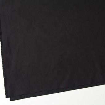 コットン×無地(ブラック)×ブロードワッシャー サムネイル2