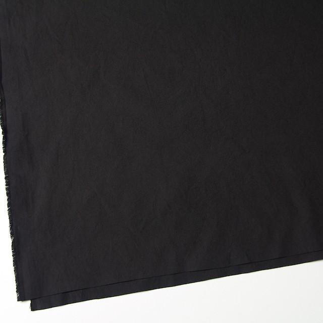 コットン×無地(ブラック)×ブロードワッシャー イメージ2