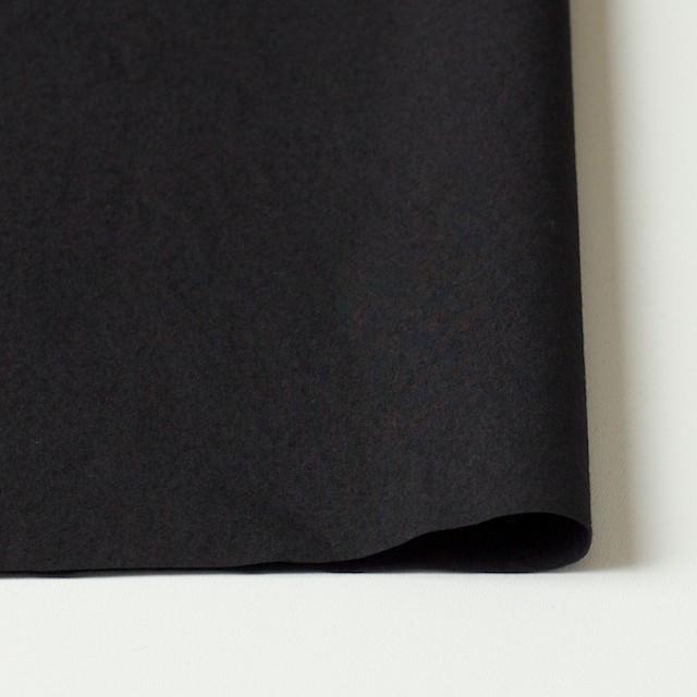 コットン×無地(ブラック)×ブロードワッシャー イメージ3
