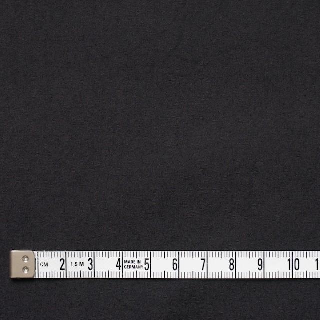 コットン×無地(ブラック)×ブロードワッシャー イメージ4