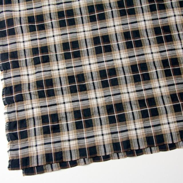 コットン&ポリウレタン×タータンチェック(ブラウン&ブラック)×ビエラ_全3色 イメージ2