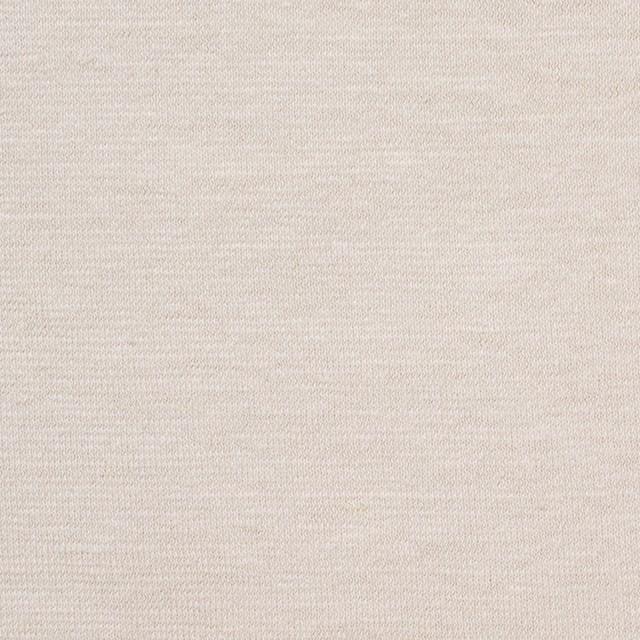 コットン&リネン×無地(アイボリー)×天竺ニット_全4色 イメージ1