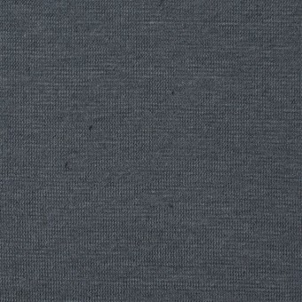 コットン&リネン×無地(スチールグレー)×天竺ニット_全4色 サムネイル1