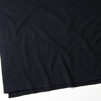コットン&リネン×無地(ブラック)×天竺ニット_全4色 サムネイル2