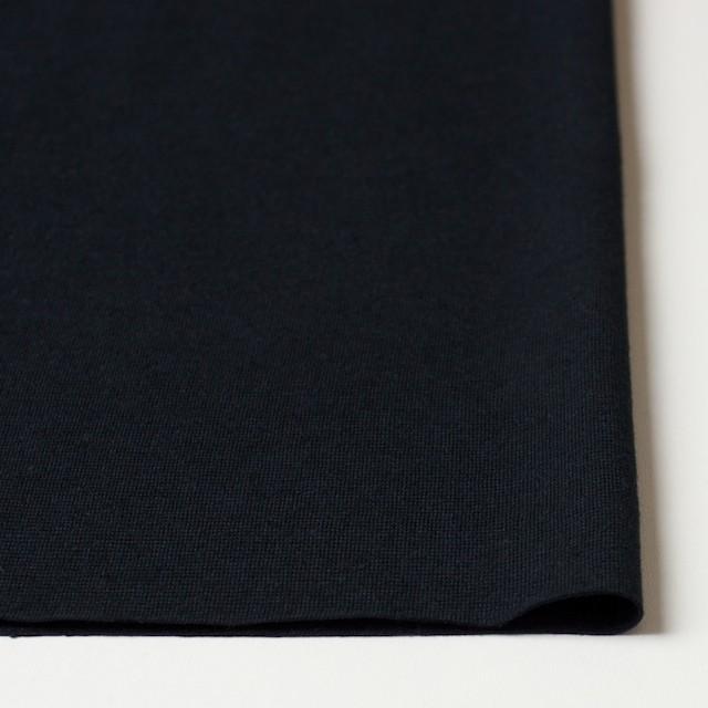 コットン&リネン×無地(ブラック)×天竺ニット_全4色 イメージ3