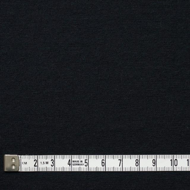 コットン&リネン×無地(ブラック)×天竺ニット_全4色 イメージ4