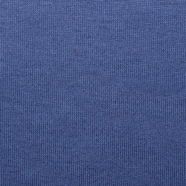 コットン&モダール×無地(グレープブルー)×天竺ニット_全5色 イメージ1