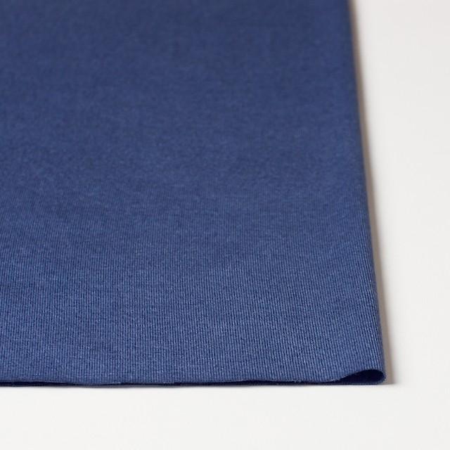 コットン&モダール×無地(グレープブルー)×天竺ニット_全5色 イメージ3