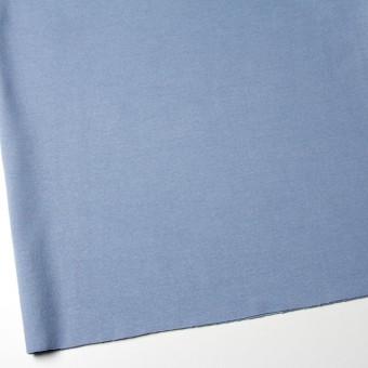 コットン&ポリウレタン×無地(サックス)×スムース丸編みニット_全2色 サムネイル2