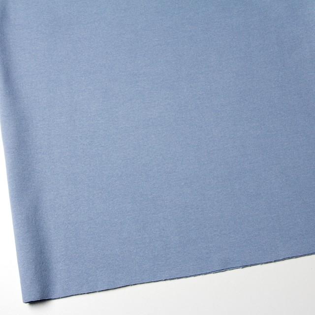 コットン&ポリウレタン×無地(サックス)×スムース丸編みニット_全2色 イメージ2