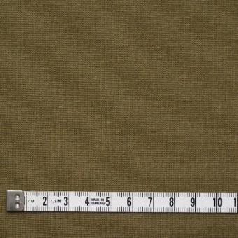 コットン&ポリウレタン×無地(オリーブ)×スムース丸編みニット_全2色 サムネイル4