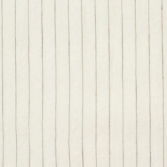 コットン&ウール×ストライプ(キナリ)×ローンジャガード サムネイル1