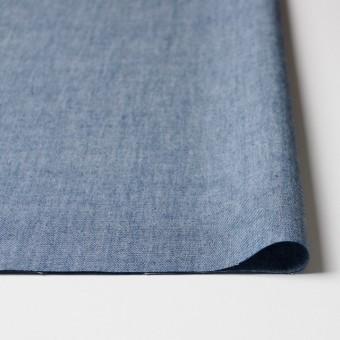 コットン&ウール×無地(ブルー)×ダンガリー_全3色 サムネイル3