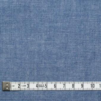 コットン&ウール×無地(ブルー)×ダンガリー_全3色 サムネイル4