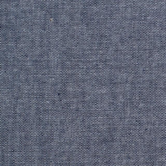 コットン&ウール×無地(ネイビー)×ダンガリー_全3色 イメージ1