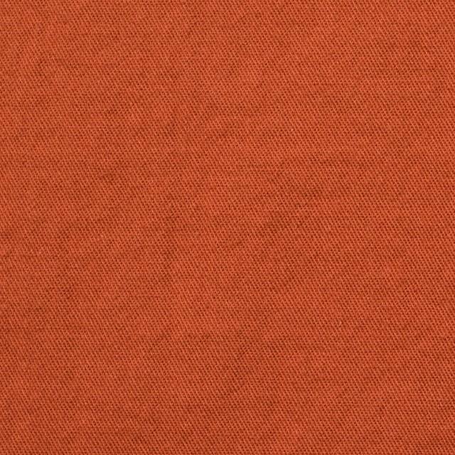 コットン&ウール×無地(オレンジ)×ビエラ&ガーゼ_全4色 イメージ1