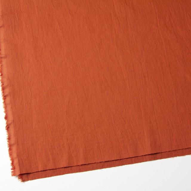 コットン&ウール×無地(オレンジ)×ビエラ&ガーゼ_全4色 イメージ2