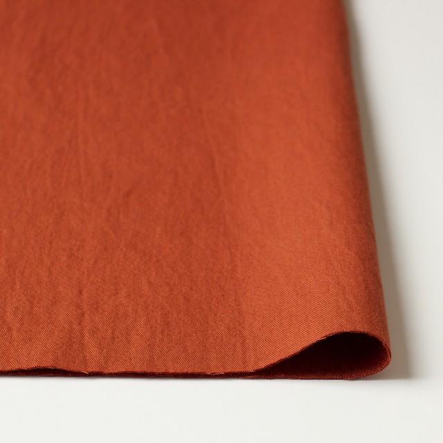 コットン&ウール×無地(オレンジ)×ビエラ&ガーゼ_全4色 イメージ3