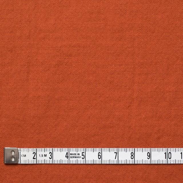 コットン&ウール×無地(オレンジ)×ビエラ&ガーゼ_全4色 イメージ4