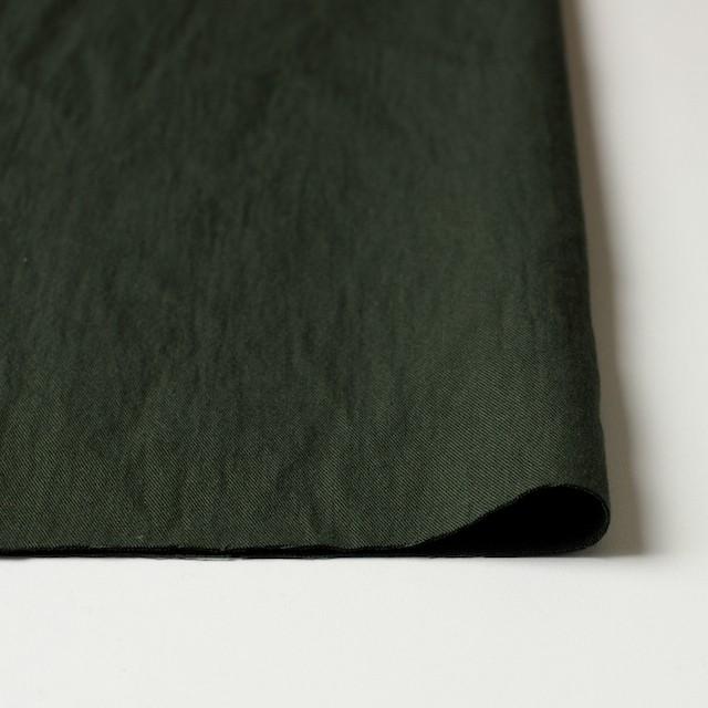 コットン&ウール×無地(カーキグリーン)×ビエラ&ガーゼ_全4色 イメージ3