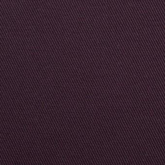 コットン&ポリウレタン×無地(ダークパープル)×チノクロス・ストレッチ_全2色 サムネイル1