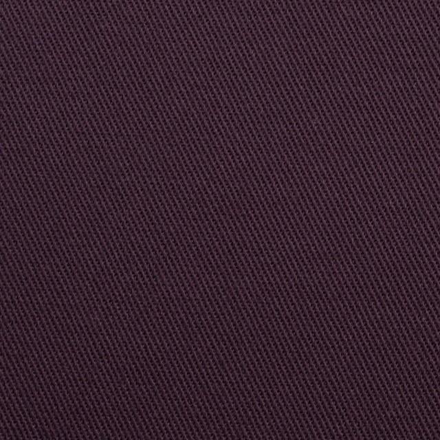 コットン&ポリウレタン×無地(ダークパープル)×チノクロス・ストレッチ_全2色 イメージ1